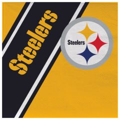 Pittsburgh Steelers Disposable Paper Napkins 20 Count Partyware