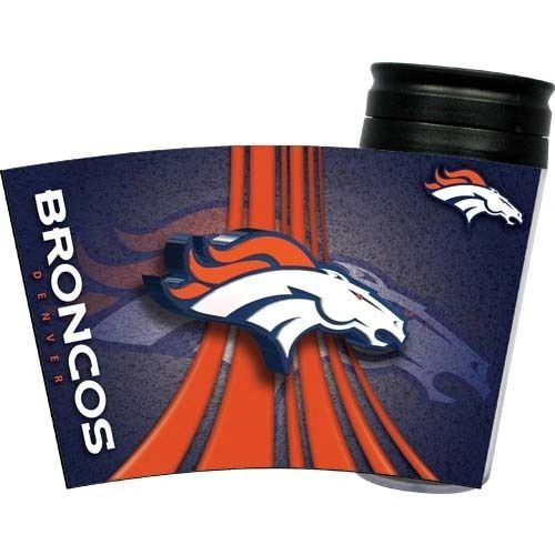Denver Broncos Travel Tumbler Coffee Cup NFL