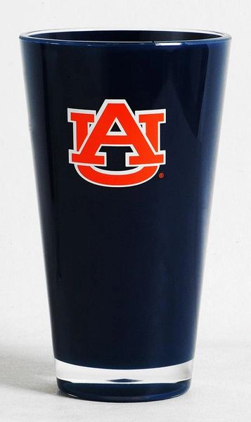 Auburn Tigers Acrylic Tumbler Cup Round 20oz. Insulated/Shatterproof NCAA Licensed FREE SHIPPING