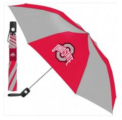 "Ohio State Buckeyes Automatic Push Button Umbrella 42"" NCAA"