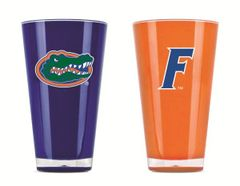 Florida Gators Insulated Tumbler Cup 2 Pack On Field Colors NCAA Licensed