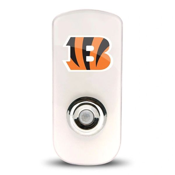 Cincinnati Bengals Night Light LED Flash Lightw/ Built In Sensor NFL
