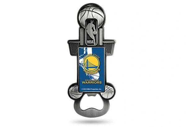 Golden State Warriors Bottle Opener Magnetic Party Starter NBA