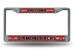 Arizona Diamondbacks Chrome Bling License Plate Frame MLB Licensed
