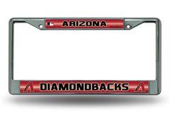 Arizona Diamondbacks Chrome Bling License Plate Frame MLB Licensed