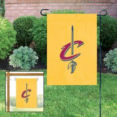"Cleveland Cavaliers Garden Flag 11"" x 15"" Embroidered NBA"