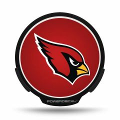 Arizona Cardinals LED Window Decal Light Up Logo Powerdecal NFL