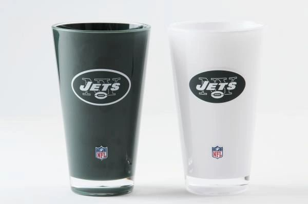 New York Jets Insulated Tumbler Cup 2 Pack On Field Colors NFL Licensed