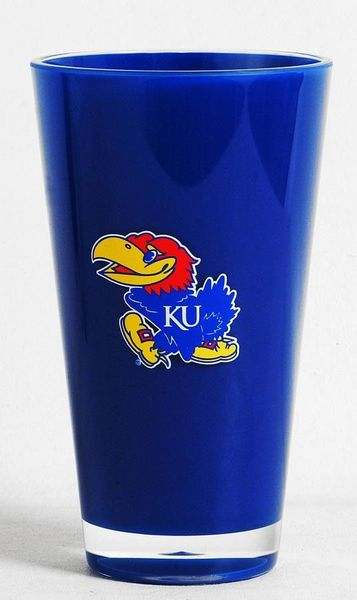 Kansas Jayhawks Insulated Tumbler Cup NCAA Licensed