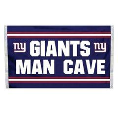 "New York Giants ""Man Cave"" 3' x 5' Banner Flag NFL Licensed"