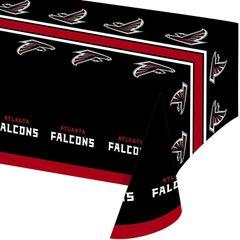 Atlanta Falcons Tablecloth Table Cover By Creative Converting
