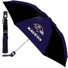 "Baltimore Ravens Automatic Push Button Umbrella 42"" NFL"