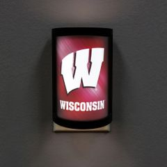 Wisconsin Badgers LED Motiglow Night Light NCAA Party Animal