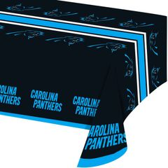 Carolina Panthers Tablecloth Table Cover By Creative Converting