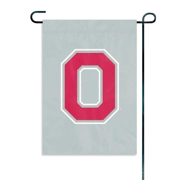 "Ohio State Buckeyes Garden Flag 11"" x 15"" Embroidered NCAA"