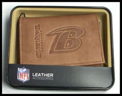 Baltimore Ravens Leather Wallet NFL