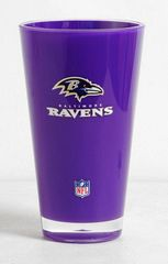 Baltimore Ravens Acrylic Round Tumbler Cup 20oz Insulated/Shatterproof NFL Licensed FREE SHIPPING