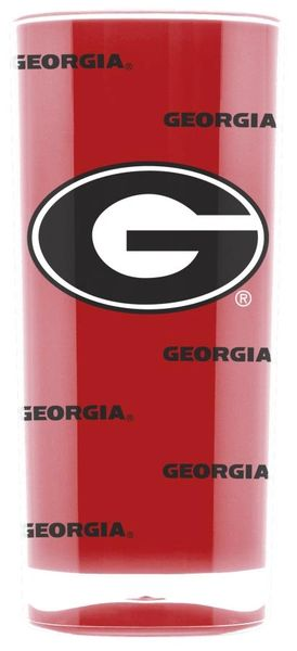 Georgia Bulldogs Insulated Tumbler Cup 20oz NCAA Licensed