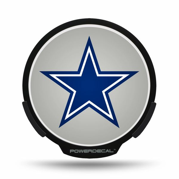 Dallas Cowboys LED Window Decal Light Up Logo Powerdecal NFL