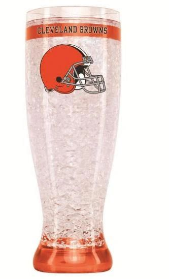 Cleveland Browns Crystal Freezer Pilsner NFL Licensed Duck House