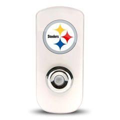 Pittsburgh Steelers Night Light LED Flash Lightw/ Built In Sensor NFL