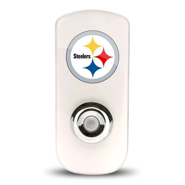 Pittsburgh Steelers Night Light LED Flash Lightw/ Built In Sensor NFL