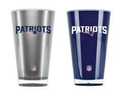 New England Patriots Insulated Tumbler Home/Away Twin Pack NFL