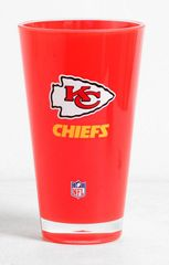 Kansas City Chiefs Round Tumbler Cup 20oz Insulated/Shatterproof NFL