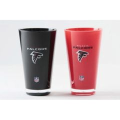 "Atlanta Falcons Acrylic Tumbler 2 Pack ""On field Colors"" Insulated/Shatterproof NFL Licensed FREE SHIPPING"