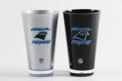 Carolina Panthers Insulated Tumbler Cups 2Pack 20oz NFL Licensed