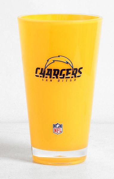San Diego Chargers Tumbler Cup 20oz Round Insulated/Shatterproof NFL