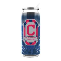 Cleveland Indians Insulated Stainless Steel Thermo Can Travel Tumbler MLB