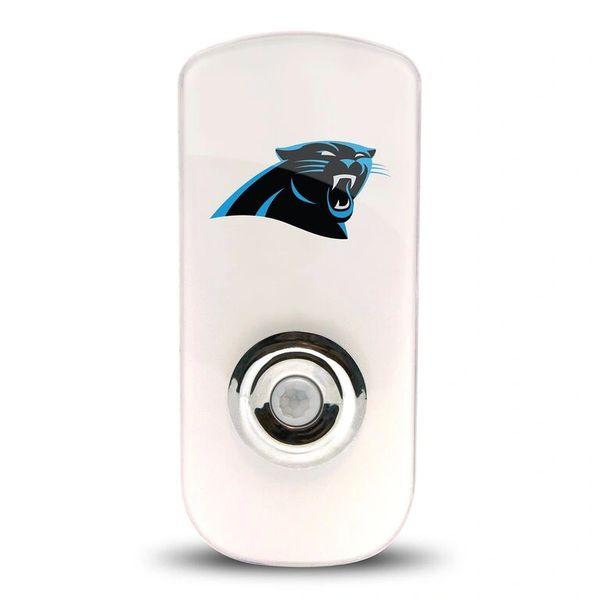 Carolina Panthers Night Light LED Flash Light w/Built In Sensor NFL
