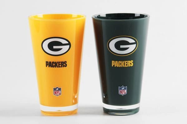Green Bay Packers Insulated Tumbler Home/Away Twin Pack NFL