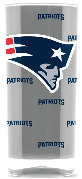 New England Patriots Tumbler Cup Insulated NFL Licensed