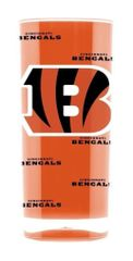 Cincinnati Bengals Acrylic Tumbler Cup 20oz. Square Insulated/Shatterproof NFL Licensed FREE SHIPPING
