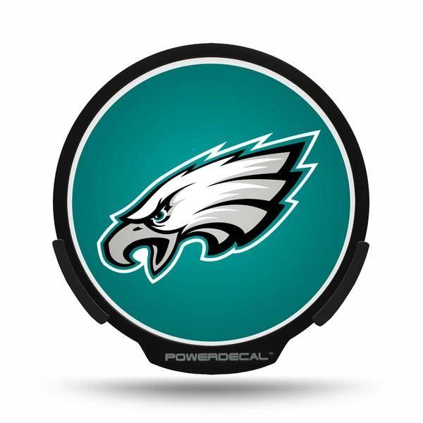 Philadelphia Eagles LED Window Decal Light Up Logo Powerdecal NFL