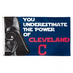 Cleveland Indians Star Wars Wall Banner Flag 3' x 5' MLB Licensed