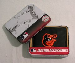 Baltimore Orioles Leather Wallet MLB Licensed
