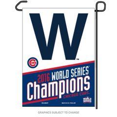 "Chicago Cubs 2016 World Series Champions Garden Flag 12"" x 18"""