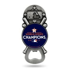 Houston Astros 2017 Champions Bottle Opener Magnetic Party Starter NHL