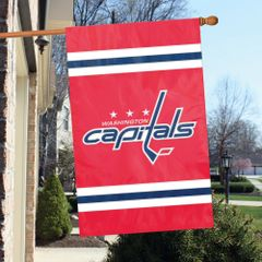 Washington Capitals 2 Sided Embroidered Vertical House - Wall Flag