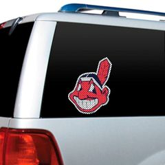 Cleveland Indians Wahoo Window Film See Thru MLB