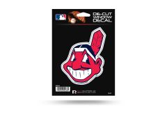 "Cleveland Indians Window Decal 4"" MLB Licensed"