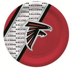 "Atlanta Falcons 10"" Disposable Paper Plates 20 Count Partyware"