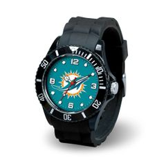 Miami Dolphins Mens Sports Watch NFL
