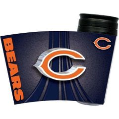 Chicago Bears Travel Tumbler Coffee Cup NFL