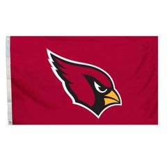 Arizona Cardinals Team Logo Banner Flag 3'x5' NFL Licensed