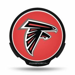 Atlanta Falcons LED Window Decal Light Up Logo Powerdecal NFL