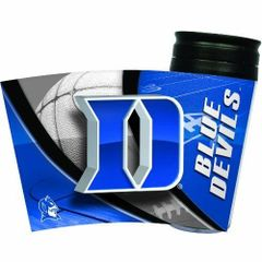Duke Blue Devils Travel Tumbler Coffee Cup NCAA